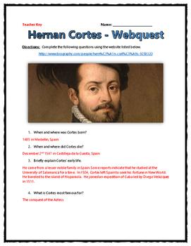 Age of Exploration - Cortes - Webquest