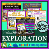 Age of Exploration & Discovery Interactive Notebook Instru