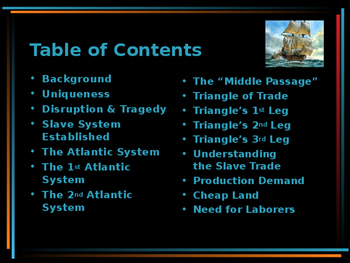 Age of Exploration & Discovery - Transatlantic Slave Trade