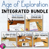 Age of Exploration & ELA Integrated Bundle: Reading, Writing & Social Studies
