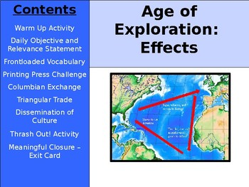 Age of Exploration - Effects