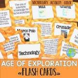 Age of Exploration Flash Cards