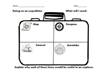 Age of Exploration Formative Assessment
