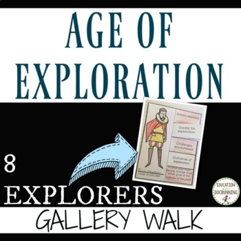 Age of Exploration Gallery Walk Activity of the Explorers