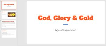 Age of Exploration: God, Glory, Gold