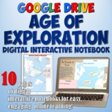 Age of Exploration Google Drive Interactive Notebook