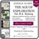 Age of Exploration: Google Slides with Graphic Organizer &