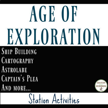 Age of Exploration Station Activities  RECENTLY UPDATED