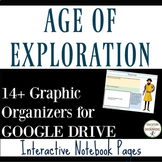 Age of Exploration Interactive Digital Notebook for Google Drive
