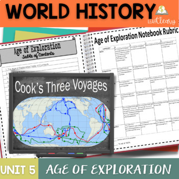Age of Exploration Interactive Notebook Complete Unit Bundle