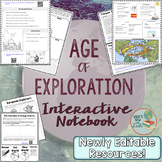 Age of Exploration Interactive Notebook Complete Unit