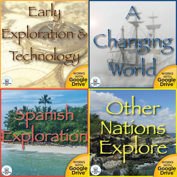 Age of Exploration Interactive Notebook Bundle