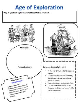 World History Age of Exploration