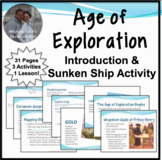 Age of Exploration Introduction Notes w/Sunken Ship Activity & Pair & Share