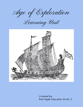 Age of Exploration Learning Unit
