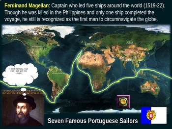 Age of Exploration Mapping Early Explorers (PART 1 - SEVEN PORTUGESE EXPLORERS)