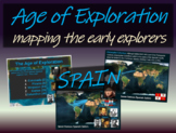 Age of Exploration Mapping Early Explorers (PART 2 - SEVEN SPANISH EXPLORERS)