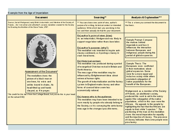 Age of Exploration Modified DBQ