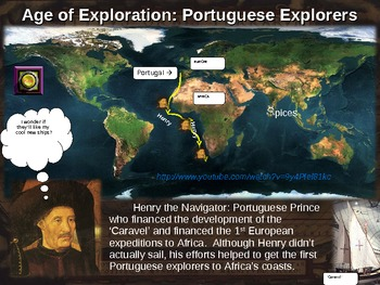 Age of Exploration! (PART 1: PORTUGAL, SPAIN, ENGLAND) visual, textual, engaging