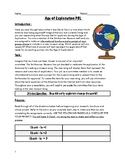 Age of Exploration PBL