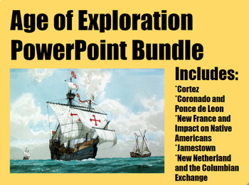 Age of Exploration PowerPoint Bundle for Middle and High School History