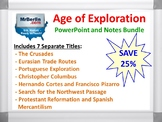 Age of Exploration PowerPoint and Notes Bundle