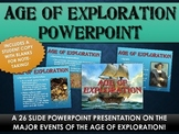 Age of Exploration - PowerPoint with Student Handout (26 Slides!)