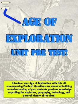 Age of Exploration - Pre-Test