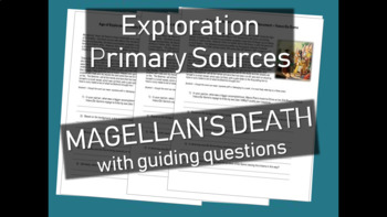 Age of Exploration Primary Source Document - Account of Magellan's Death