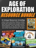 Age of Exploration - Resource Bundle (PPT's, Webquests, Project, etc.)