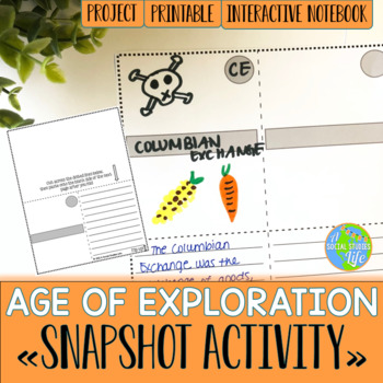Age of Exploration Snapshot Activity