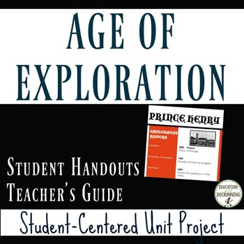 Age of Exploration: Student-Centered Unit Project for Age of Discovery