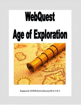Age of Exploration Super Bundle- Power Point, Bingo Game & WebQuest