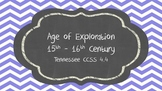 Age of Exploration Tennessee CCSS 4.4