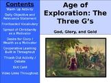 Age of Exploration - Three G's