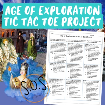 Age of Exploration Tic Tac Toe Project