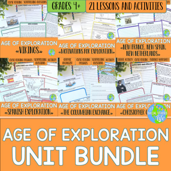 Age of Exploration UNIT BUNDLE with BONUS card sets