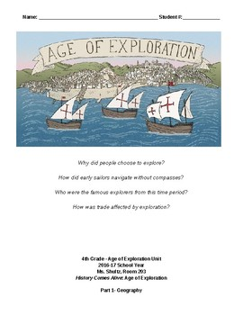 Age of Exploration Unit Student Packet