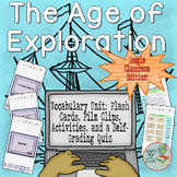 Age of Exploration Vocabulary Unit for Google Classroom an