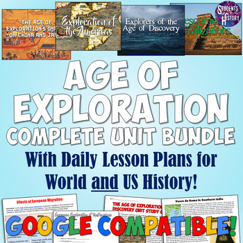 Age of Exploration and Discovery Complete Unit Bundle