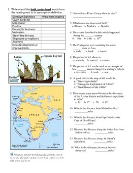 Age of Exploration  and Prince Henry the Navigator