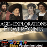 Age of Exploration PowerPoint with Video Clips + Presenter Notes