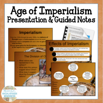Age of Imperialism Guided Notes Student Handouts