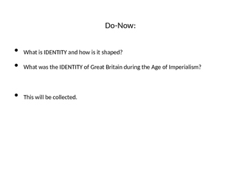 Age of Imperialism: India Under British Rule Lecture and activity