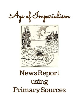 Age of Imperialism Primary Source Lesson