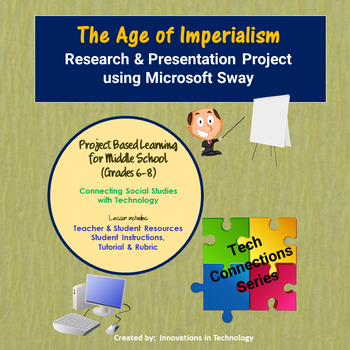 Age of Imperialism - Research & Presentation Project in Microsoft Sway