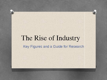 Age of Industry: America's Titans of Industry