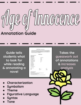 Age of Innocence Annotation Guide