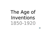 Age of Inventions Power Point
