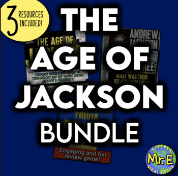 Age of Andrew Jackson Unit! Trail of Tears, Bank War, Nullification, & More!